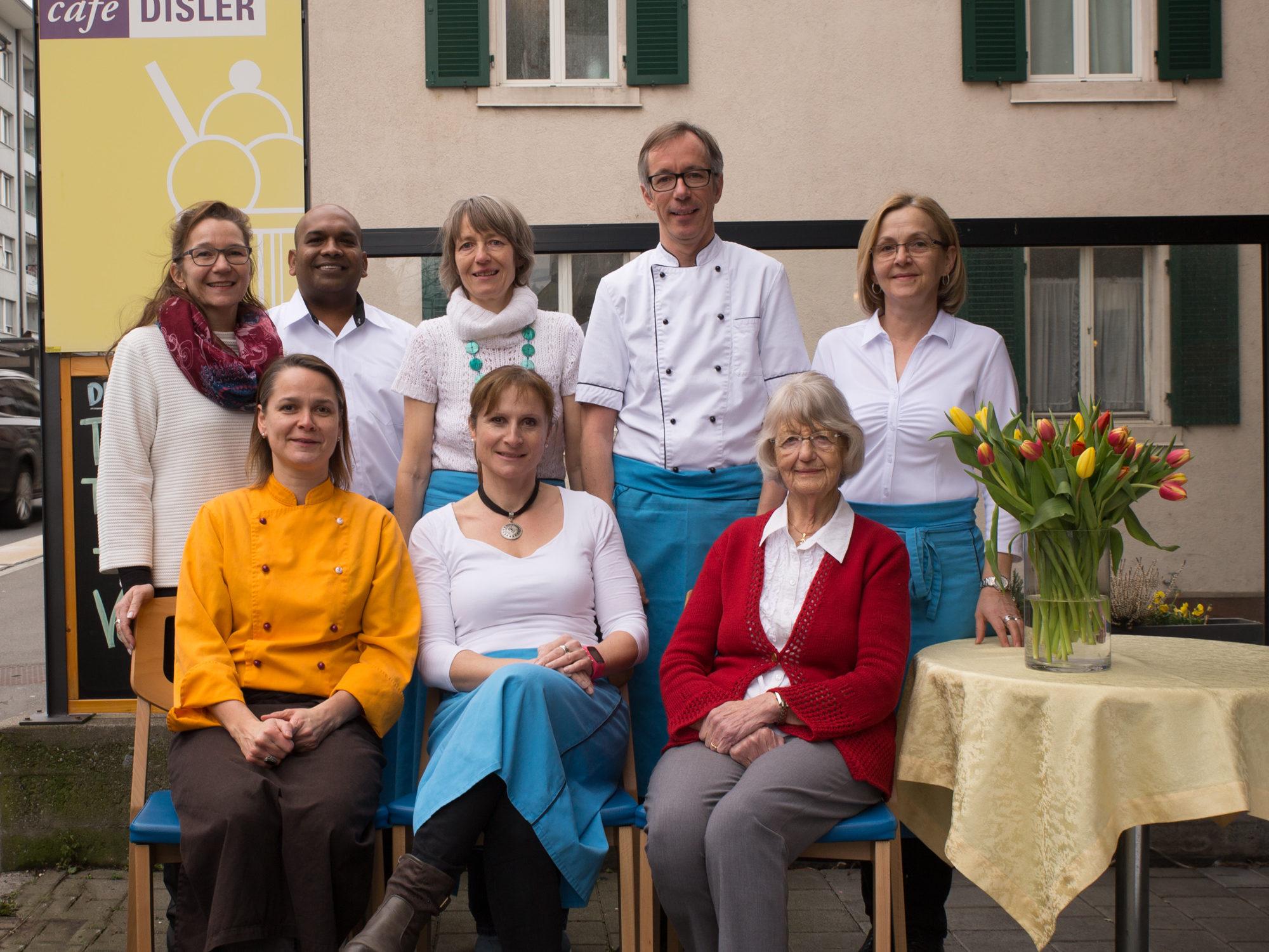 Matthias Disler und Team